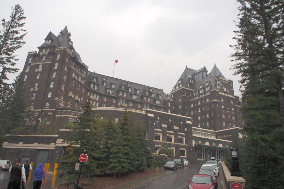 20150827バンフスプリングホテル