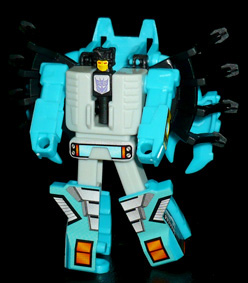 シーコンズ 海中爆破兵 ロブクロウ ロボットモード