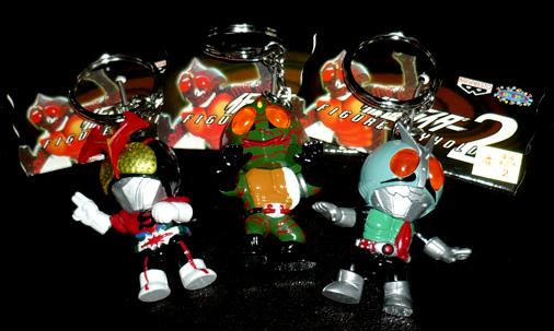 バンプレスト 仮面ライダーフィギュアキーホルダー2