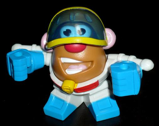 ミスター・ポテトヘッド マッシュアップ スタースクリーム ロボットモード