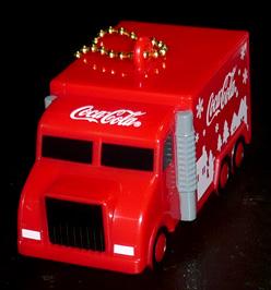 コカ・コーラ ボトルキャップオーナメント コークトラック