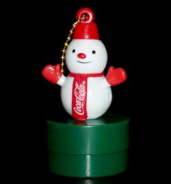 コカ・コーラ ボトルキャップオーナメント スノーマン
