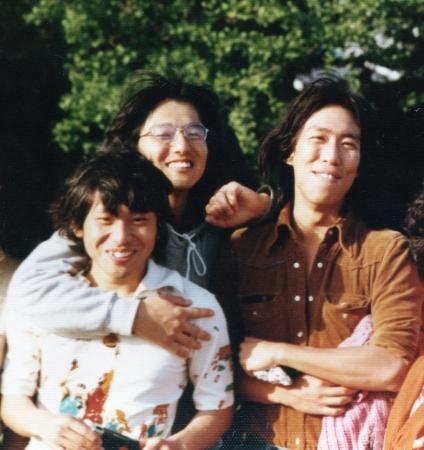 大西信之、横山宏、大橋和也 ムサビサッカー部時代