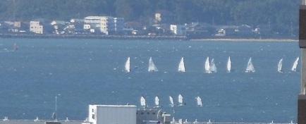 海、ヨット