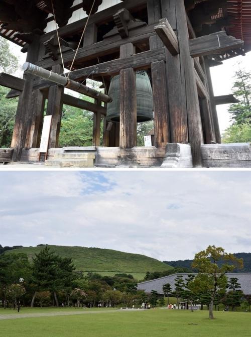 三笠山と大鐘