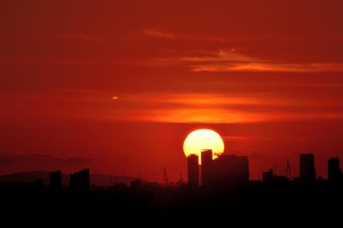 dramatic夕陽10.07
