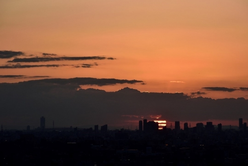 dramatic夕陽10.06