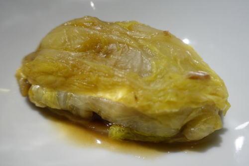 牡蠣の白菜蒸し