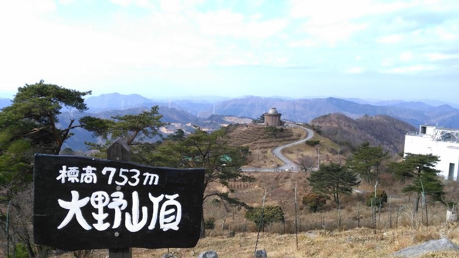 大野山/山頂からの風景