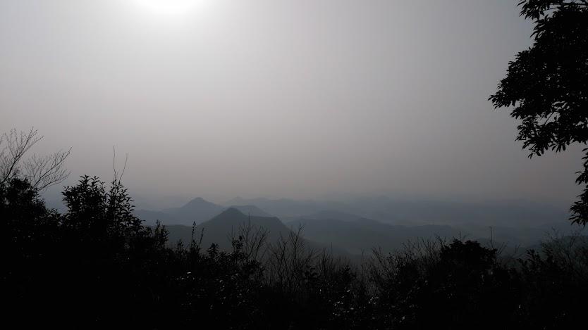 大船山/西側