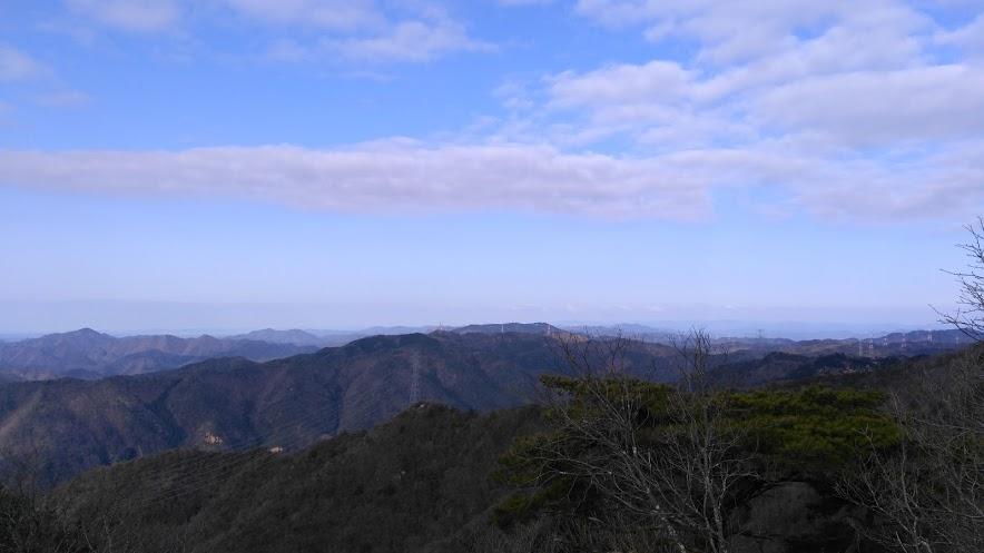 剣尾山/西側