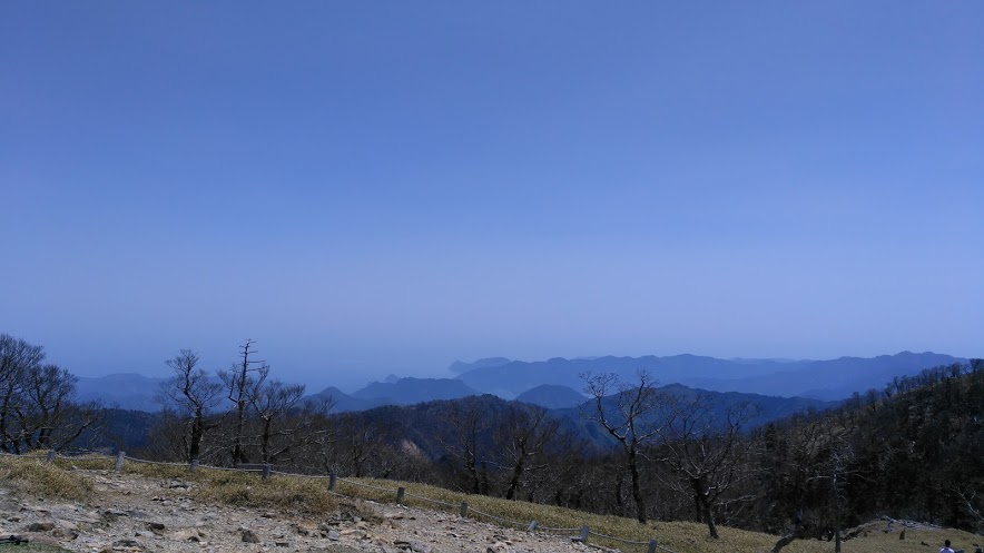 日出ヶ岳/熊野灘