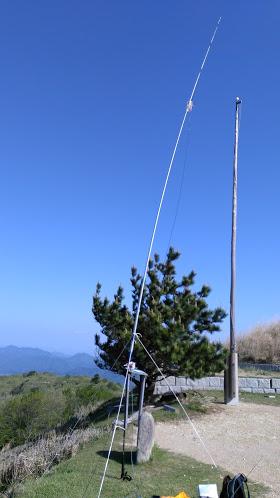 深山テスト/アンテナ