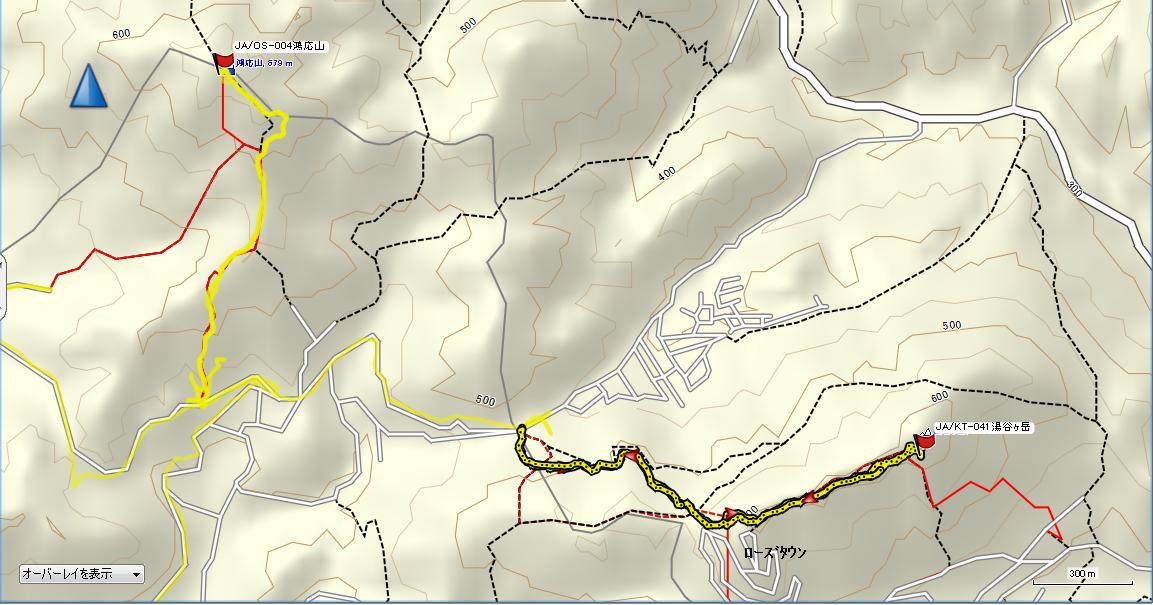 湯谷ヶ岳/地図