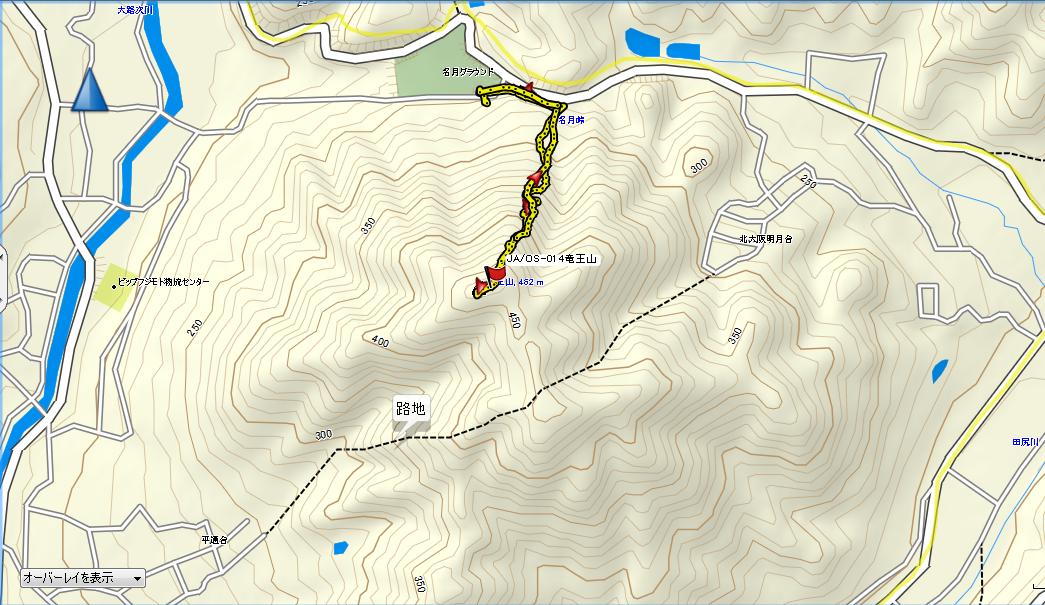 竜王山/GPS
