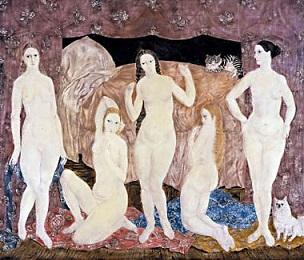 五人の裸婦