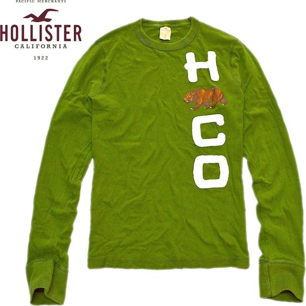Hollisterホリスター画像ロンT@古着屋カチカチ01