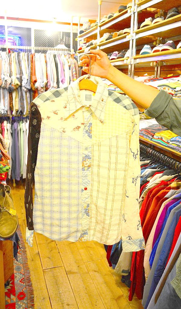 USED長袖柄物シャツ画像@古着屋カチカチ04