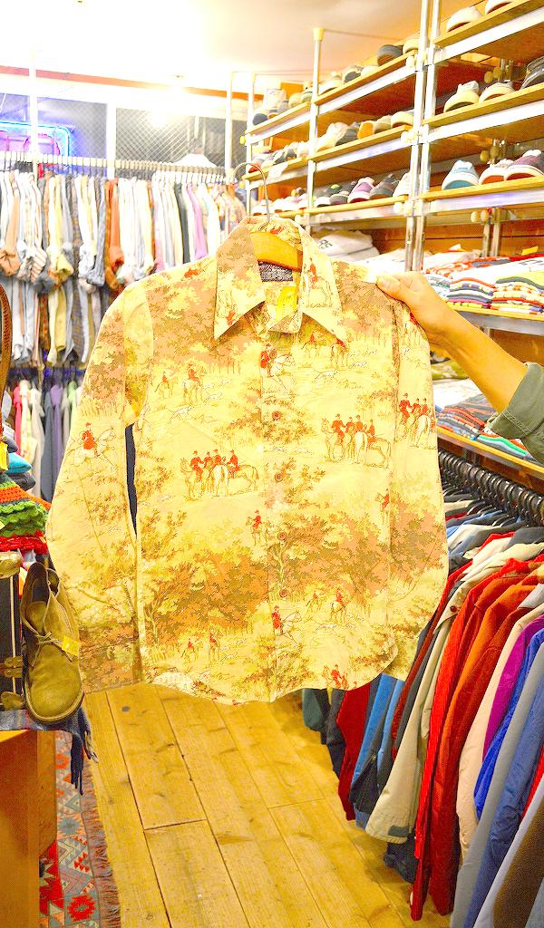 USED長袖柄物シャツ画像@古着屋カチカチ06