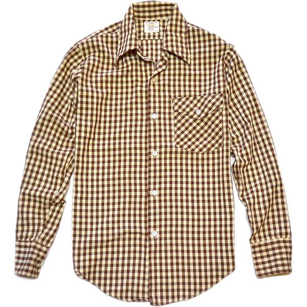 USEDチェックシャツ画像@古着屋カチカチ (2)