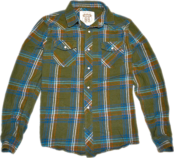USEDチェックシャツ画像@古着屋カチカチ