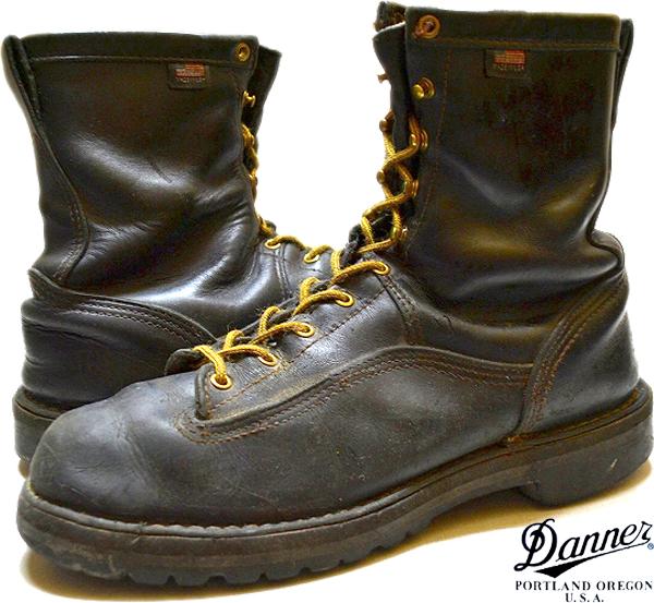 USEDレザーブーツ革靴画像@古着屋カチカチ04