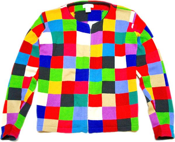 カーディガンUSEDニットセーター画像@古着屋カチカチ