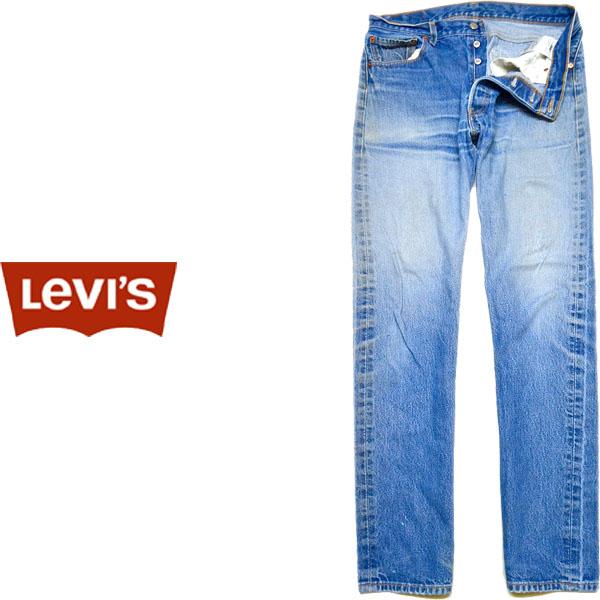 USEDリーバイス501ストレートジーンズ画像@古着屋カチカチ04