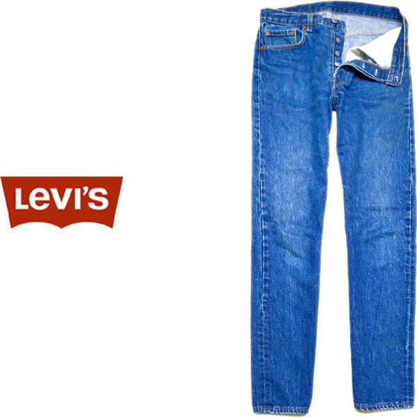 USEDリーバイス501ストレートジーンズ画像@古着屋カチカチ05