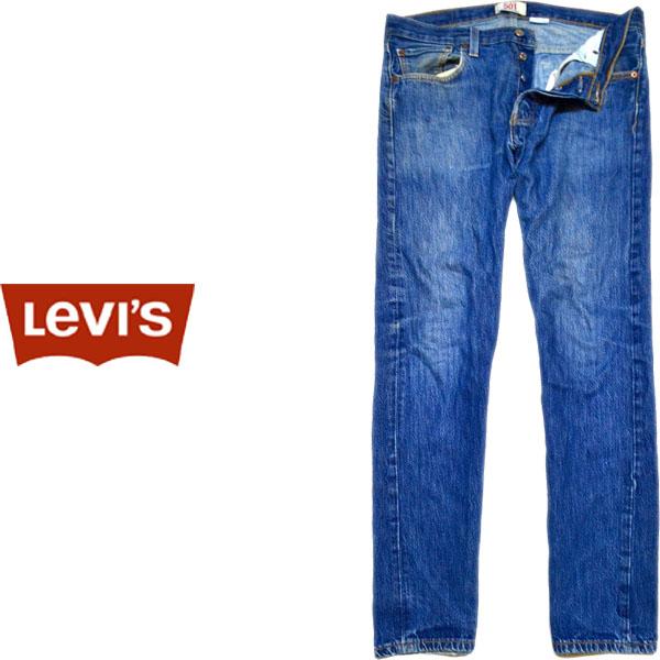 USEDリーバイス501ストレートジーンズ画像@古着屋カチカチ06