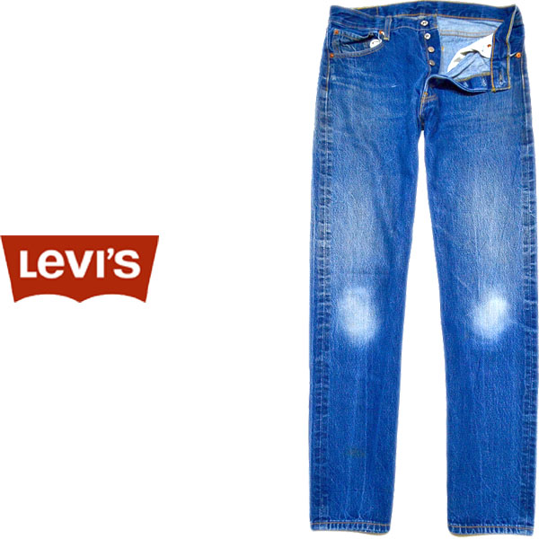 USEDリーバイス501ストレートジーンズ画像@古着屋カチカチ08