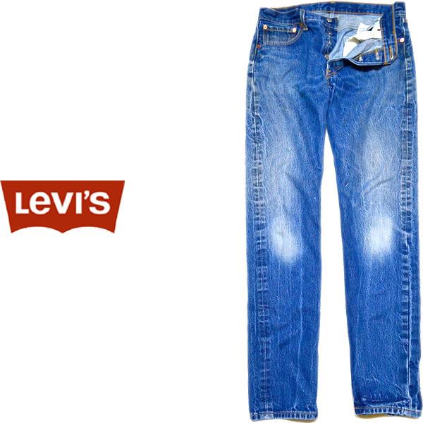 USEDリーバイス501ストレートジーンズ画像@古着屋カチカチ09