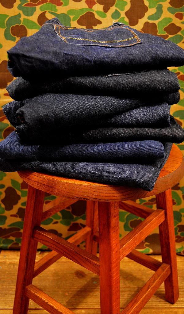 USED濃紺デニムパンツ画像ジーンズ@古着屋カチカチ01