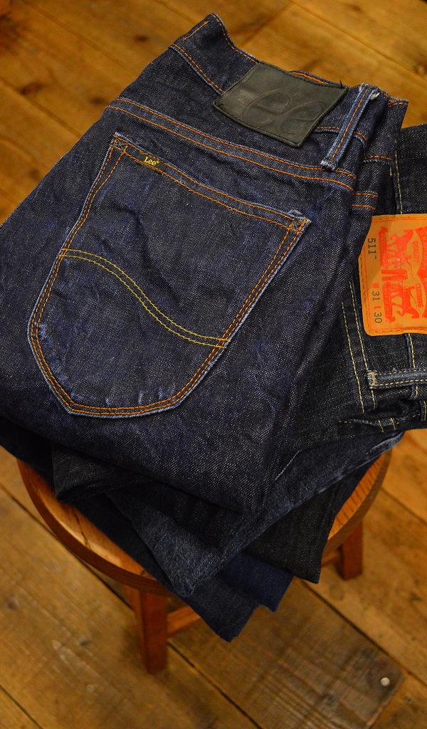 USED濃紺デニムパンツ画像ジーンズ@古着屋カチカチ05