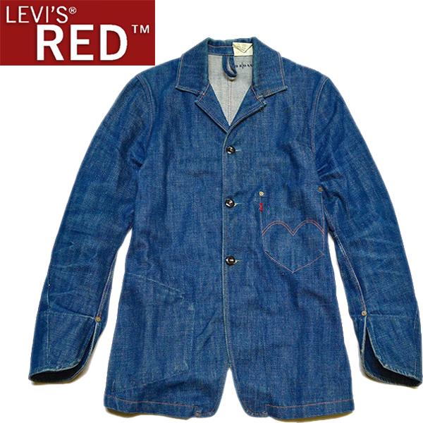 リーバイスLevis REDレッド画像コート1stデニムジャケット@古着屋カチカチ02