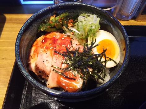 レアポーク丼