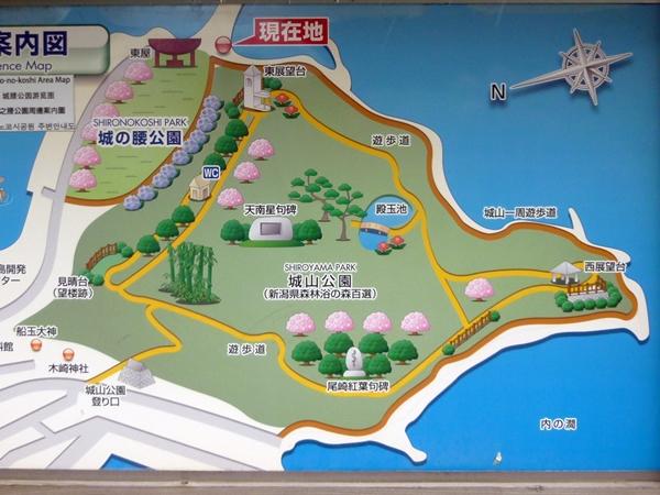 浮亀城地図