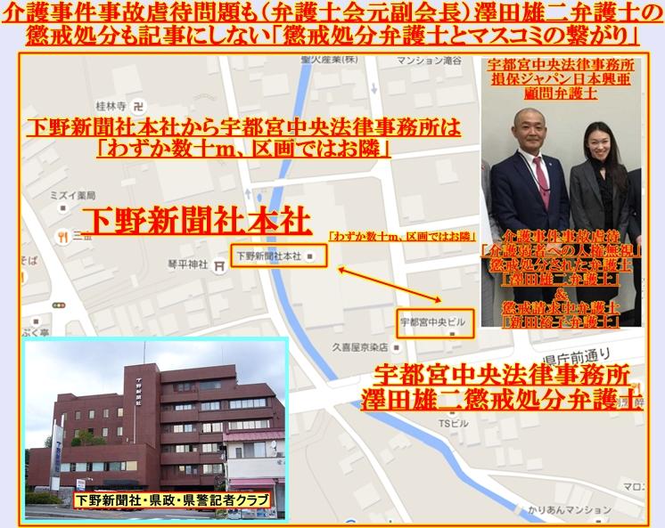 下野新聞社&宇都宮中央法律事務所澤田雄二弁護士