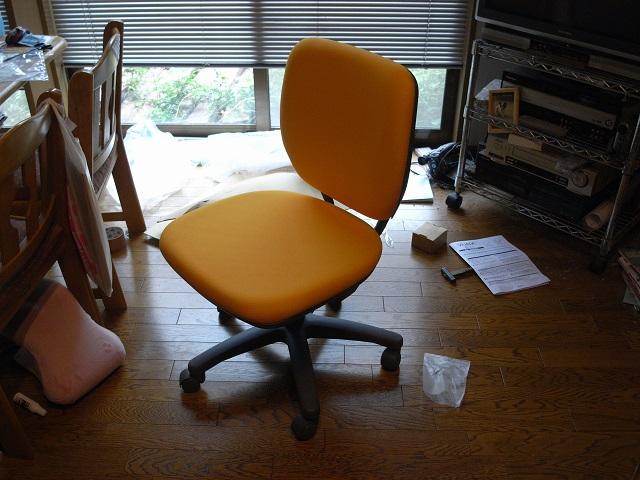 新しい椅子