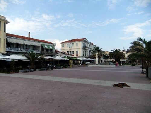 ミティリニ_サッフォー広場