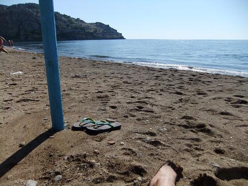 リムノスでひと泳ぎ