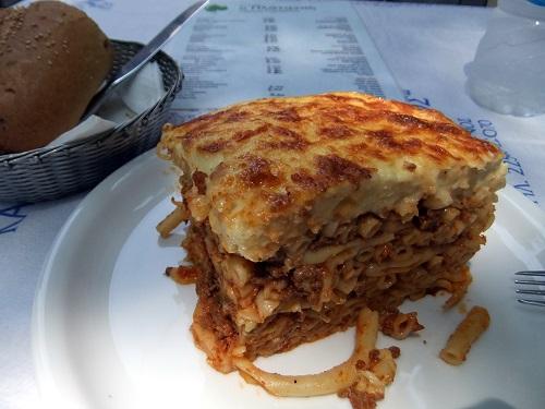リムノス_ミリナ「プラタノス」で昼食 (2)