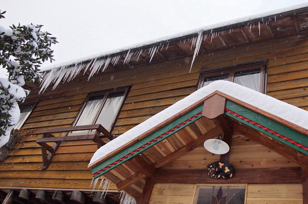 1月24日雪の山猫軒-2