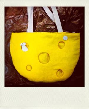 チーズとねずみバッグ