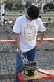 さんま網焼き体験 2