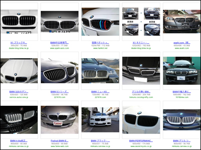 """BMW""""キドニーグリル"""""""