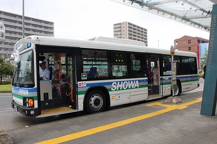 ギャラリーバス出発式 (1)