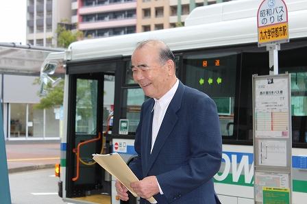 ギャラリーバス出発式 (4)