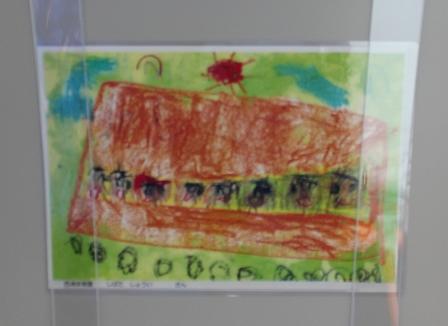 西浦保育園の子どもたちの絵 (1)