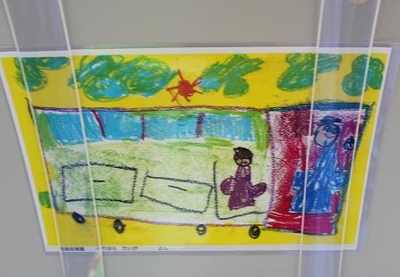 西浦保育園の子どもたちの絵 (4)